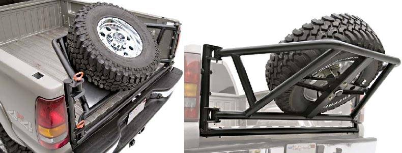 4x4 Parts - Frontier Rear Tire Carrier 0APREARTIRE05 ...