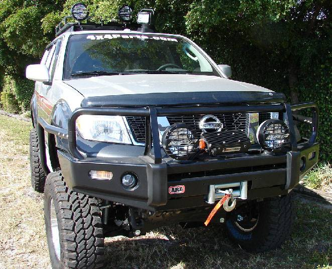 4x4 Parts Arb Pathfinder Winch Mount Bull Bar