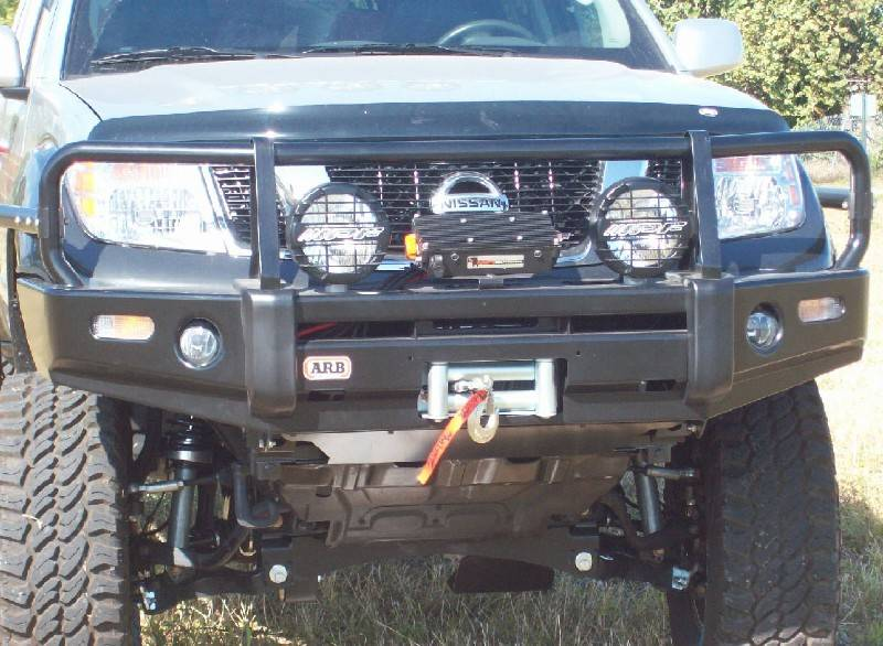 4x4 Parts Arb Frontier Winch Mount Bull Bar Apab3438260f