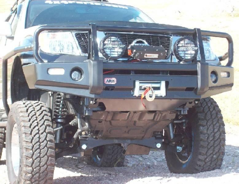 4x4 Parts - ARB Frontier Winch Mount Bull Bar APAB3438320F