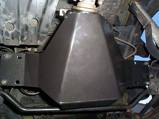 4x4 Parts Frontier Rear Differential Skid Plate