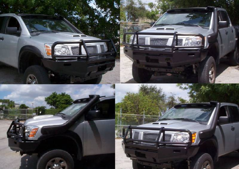 4x4 Parts Front Titan Winch Mount Bull Bar Apacbwintta