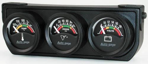 4x4 Parts - Electric Mini Three Gauge Water Temperature ...