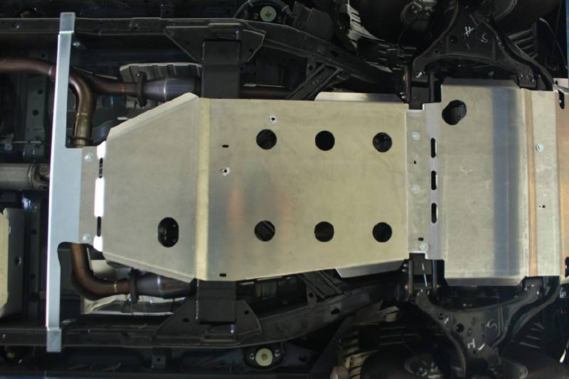 4x4 Parts - Frontier Complete Set of Skid Plates ...