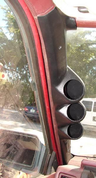 4x4 Parts - Hardbody Pillar Gauge Pod APLTHB3GPOD - Your ...