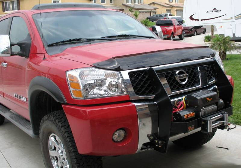 Help Front Winch Bumper Options Nissan Titan Forum