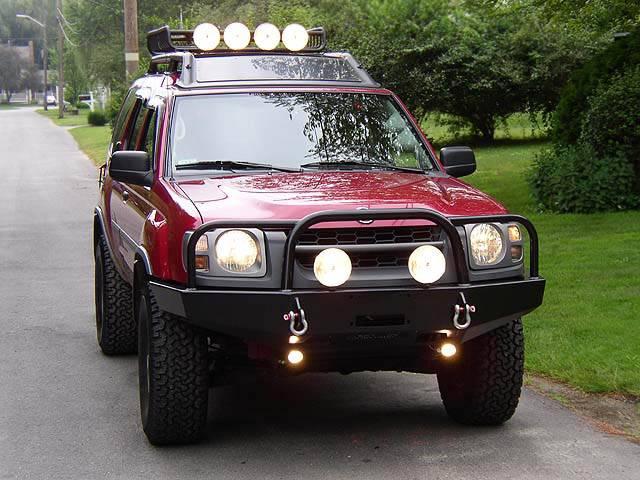 4x4 Parts - Xterra Front Winch Mount Bumper APSW02XTWBB ...