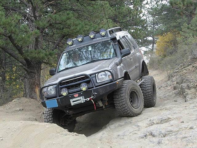 4x4 Parts Xterra Front Winch Mount Bumper Apsw1xtwbb