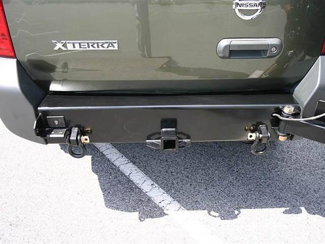 4x4 Parts - Xterra Rear Bumper & Tire Carrier ...