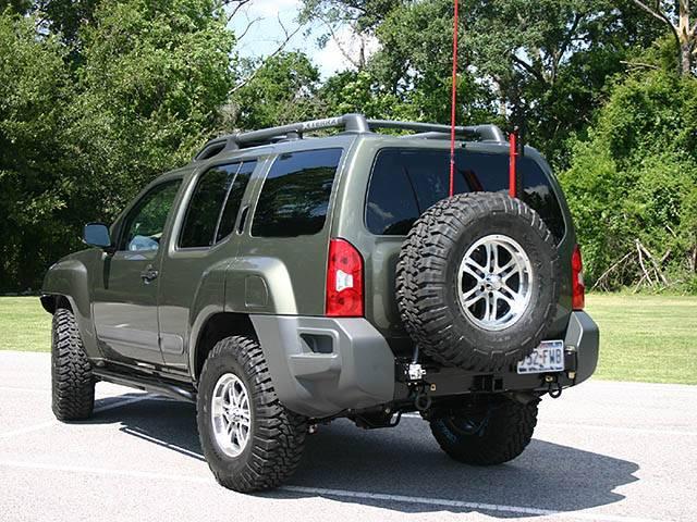 4x4 Parts Xterra Rear Bumper Amp Tire Carrier