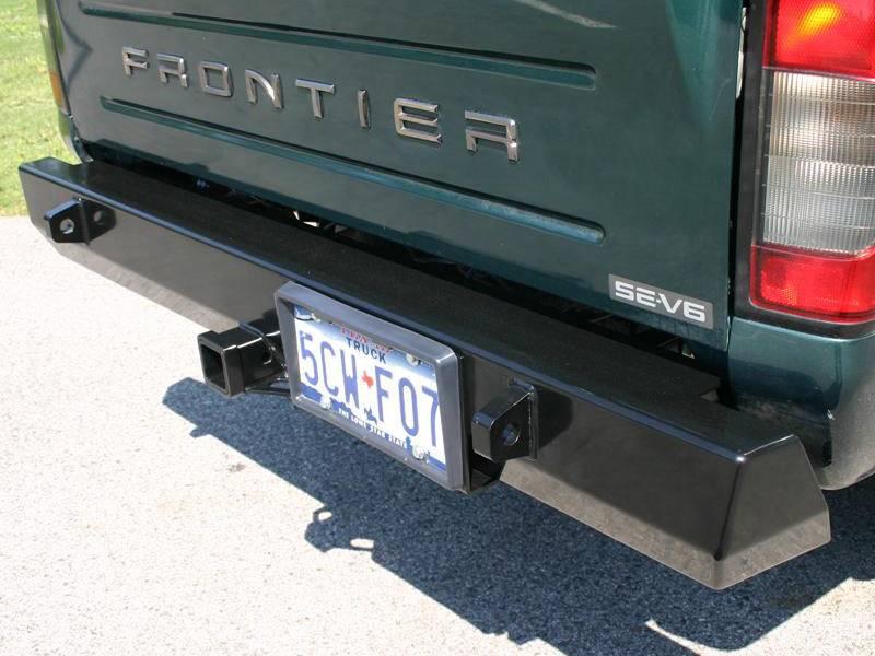 Adjustable Hitch Receiver >> 4x4 Parts - Frontier Rear Bumper APSWG1FRONTREARBUMP ...