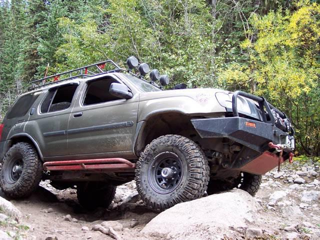 4x4 Parts Xterra Rock Sliders Apswxslidersbare Your 1