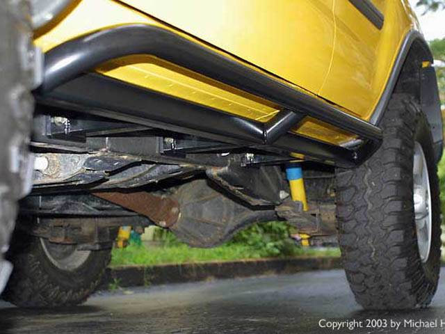 4x4 Parts Xterra Rock Sliders Apswxslidersbare Your 1
