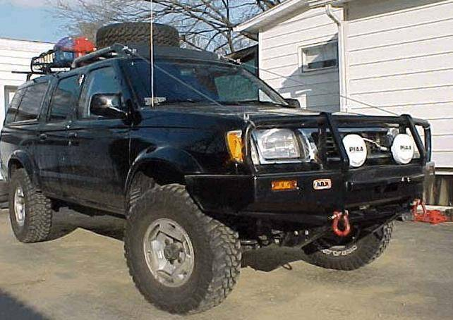 4x4 Parts Arb Frontier Winch Mount Bull Bar