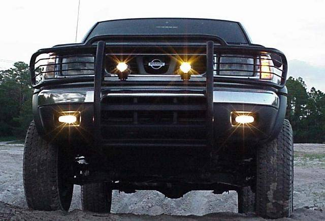 Truck Grill Guard >> 4x4 Parts - Frontier Grille/Brush Guard Black BPAP9942B - Your #1 Source for Nissan Aftermarket ...