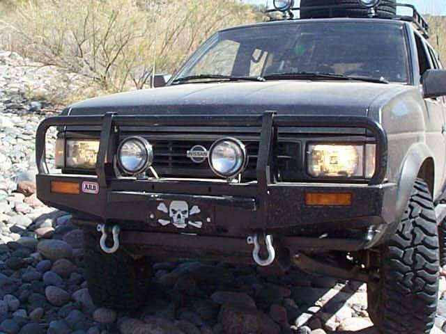 4x4 Parts Arb Hardbody Winch Mount Bull Bar Bparb3438050