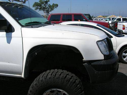 Toyota Extra Care >> 4x4 Parts - Xterra Fiberglass Fenders FPHP7007 - Your #1