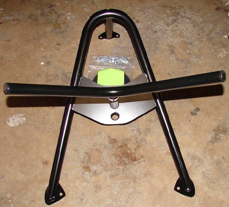 4x4 Parts Angled Spare Tire Mount Kit Ppfpftt10002bk
