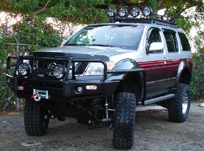 4x4 Parts Pathfinder Cargo Rack With Mounts Rhou05pfweld