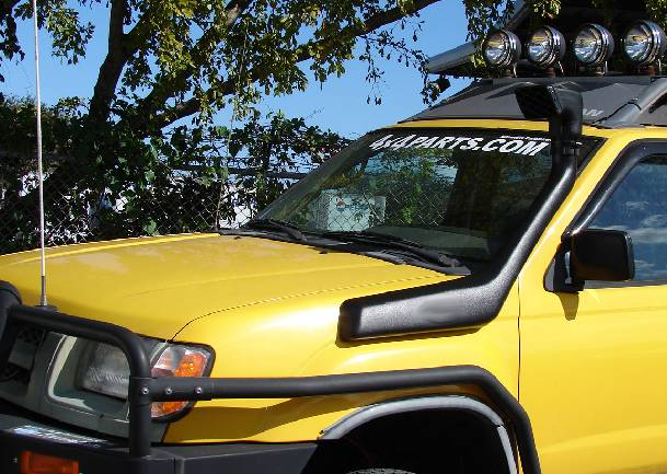 Military Jeep Parts >> 4x4 Parts - Xterra Snorkel SPAC4XSNORKY - Your #1 Source for Nissan Aftermarket Parts!