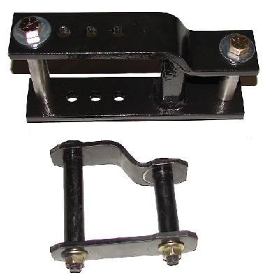 4x4 Parts Xterra Adjustable Lift Shackles Spacadjshack5x