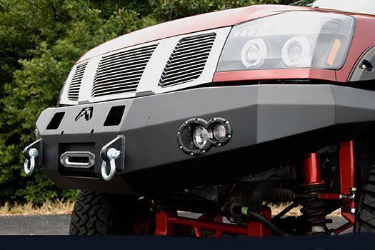 Military Jeep Parts >> 4x4 Parts - Titan Winch Bumper SPACFF041751TITAN - Your #1 Source for Nissan Aftermarket Parts!