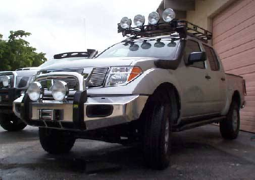 4x4 Parts - Frontier Front Bumper With Winch ...