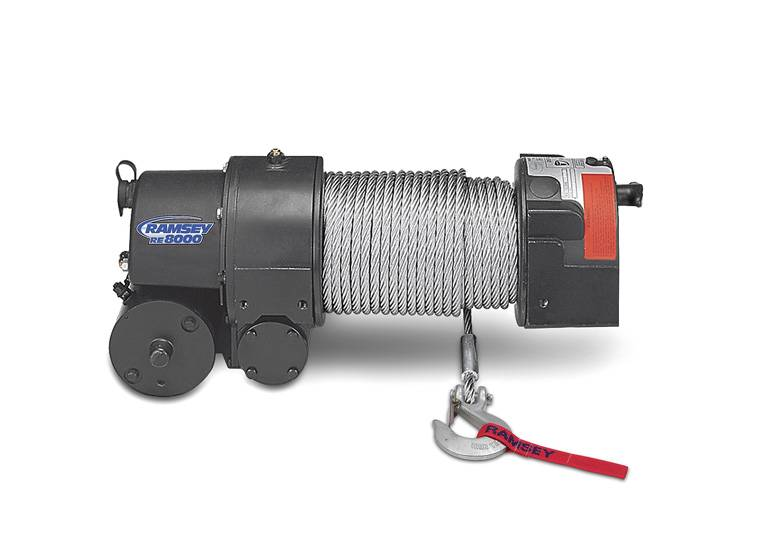 4x4 parts ramsey re 8000lb winch spacramwinch8lb your. Black Bedroom Furniture Sets. Home Design Ideas