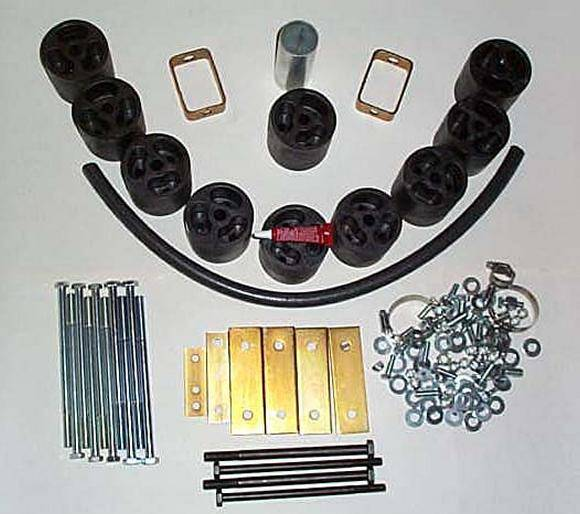 4x4 Parts - Pathfinder 3 Inch Body Lift SPBL405395 - Your #1 Source for  Nissan Aftermarket Parts!