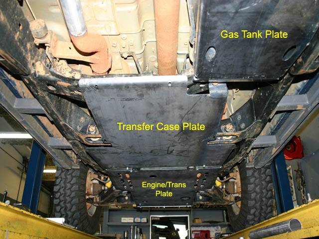 parts xterra transfer case skid plate swapgxtcase