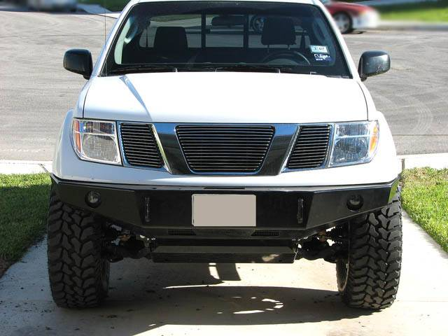 2005 Nissan Xterra Off Road >> 4x4 Parts - Frontier Winch Mount Bumper APSW2FRTWMBB - Your #1 Source for Nissan Aftermarket Parts!