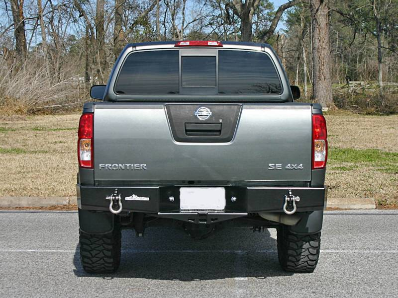 Military Jeep Parts >> 4x4 Parts - Frontier Rear Bumper with Receiver Hitch APSW5FRONTREARBUMPNTIRE - Your #1 Source ...