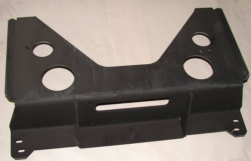 4x4parts Rear Winch Mount Plate For Hummer H1 Hmmwv M998
