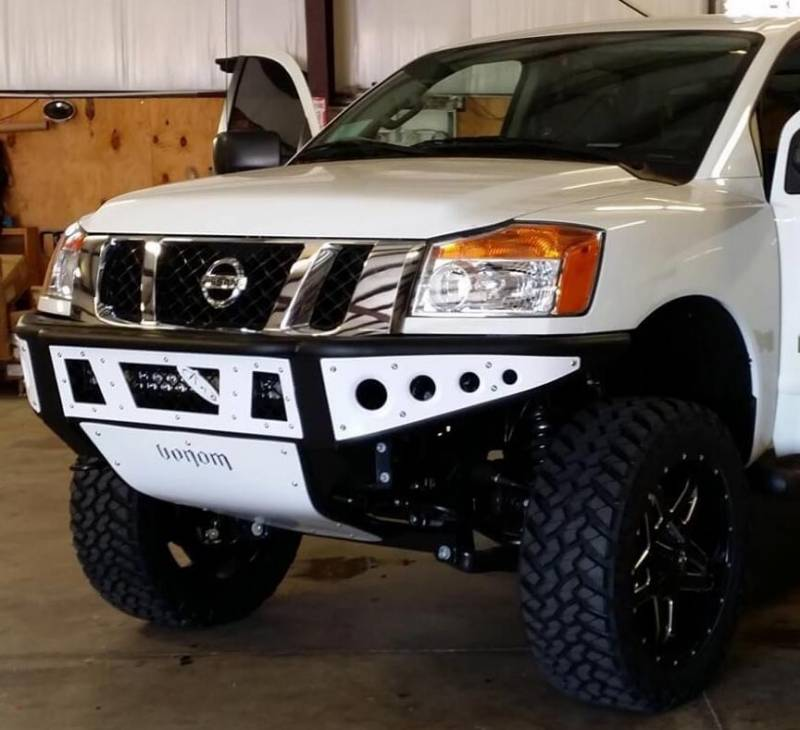 Titan Venom Front Bumper