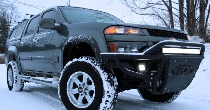 Chevy Colorado Canyon Stealth Front Bumper