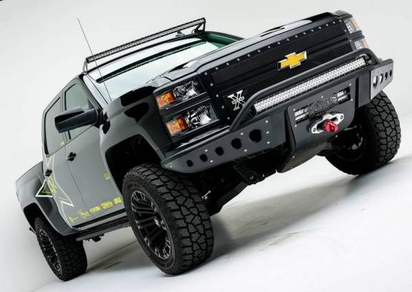 Chevy Silverado Stealth Front Bumper With Winch Mount