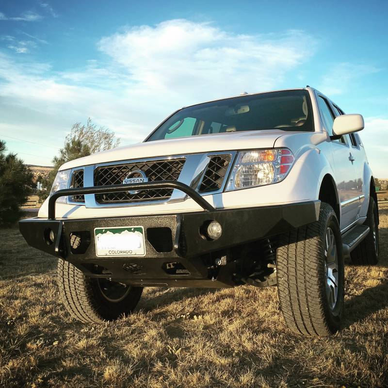 Nissan Frontier Bumper >> Frontier Aluminum Front Bumper