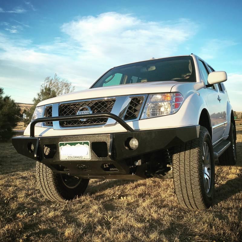 2005 Nissan Xterra Off Road >> FRONTIER ALUMINUM FRONT BUMPER