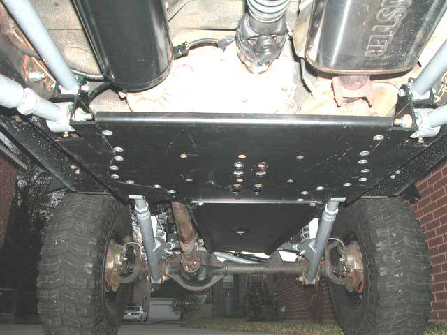 Jeep Wrangler Parts And Accessories >> LONG ARM ENGINE/TRANSMISSION SKID PLATE