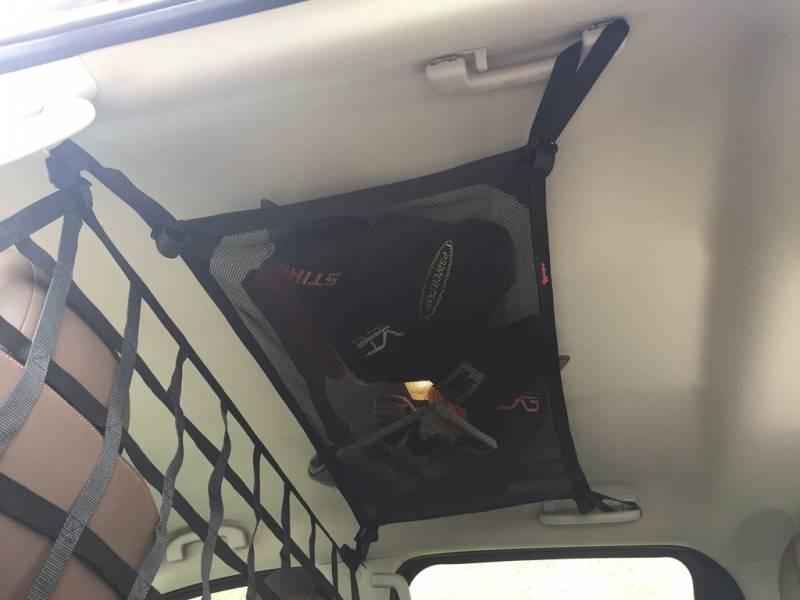 2016 Honda Element >> Titan Crew Cab Ceiling Storage Net
