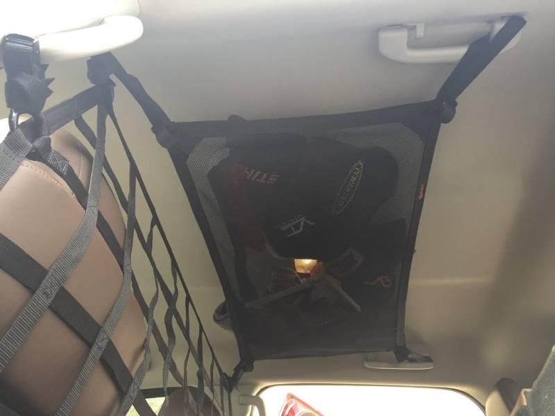 Dodge Crew Cab >> Titan Crew Cab Ceiling Storage Net