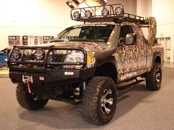 Nissan Titan Accessories >> AC's Ultimate Hunting Titan