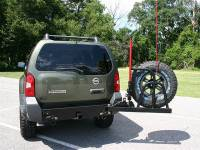 Xterra Rear Bumper & Tire Carrier