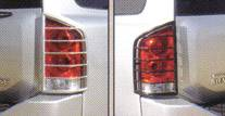 Armada Stainless Tail Light Guards
