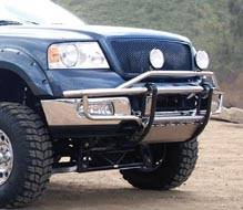 Armada Stainless Prerunner Front Bumper