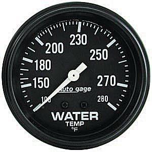 Mechanical Water Temperature Gauge