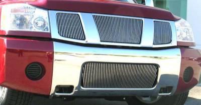 Titan Vertical Billet Bumper Insert