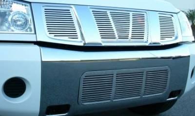 Armada Platinum Series Billet Bumper Insert