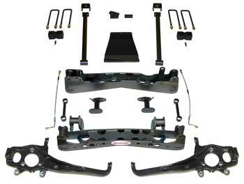 Rancho 4 Inch Suspension Package W/RS9000XL & Pro ShocksSeries