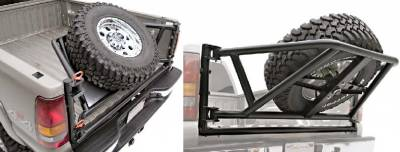 Titan Rear Tire Carrier
